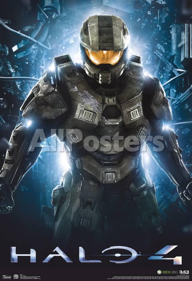 Halo 4 Teaser Video Game Poster Láminas en AllPosters.es