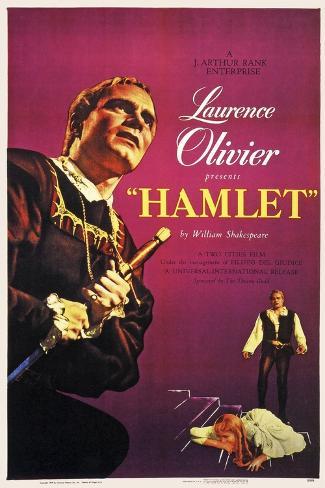 Hamlet, 1948 Gicléetryck