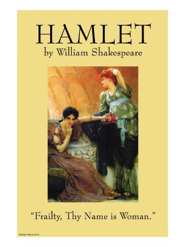 the question of madness in hamlet a play by william shakespeare What is arguably shakespeare's greatest play, hamlet, is often understood to be a revenge tragedy, but it is quite an odd one at that it is a play driven by a protagonist who spends most of the play contemplating revenge rather than exacting it hamlet's inability to avenge the murder of.