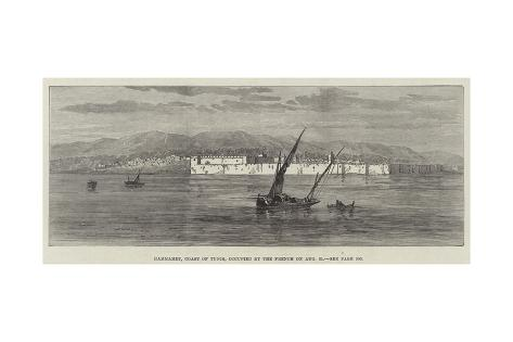 Hammamet, Coast of Tunis, Occupied by the French on 31 August Giclee Print