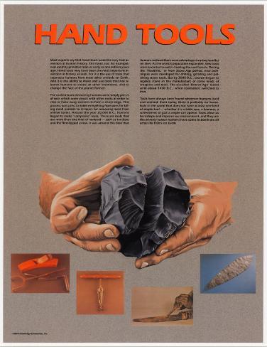 Hand Tools Art Print