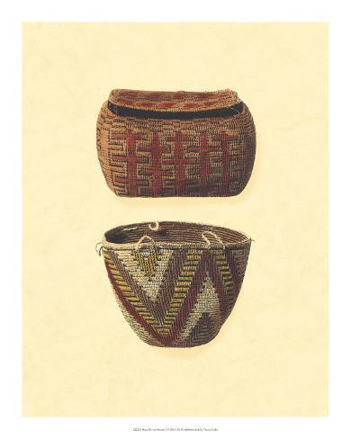 Hand Woven Baskets I Giclee Print