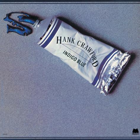 Hank Crawford - Indigo Blue Art Print