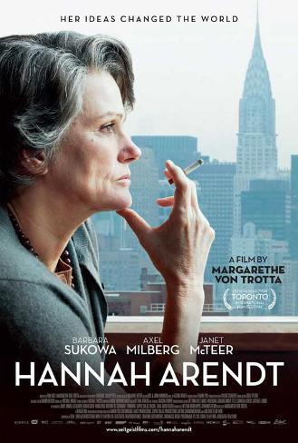 Hannah Arendt Movie Poster Poster