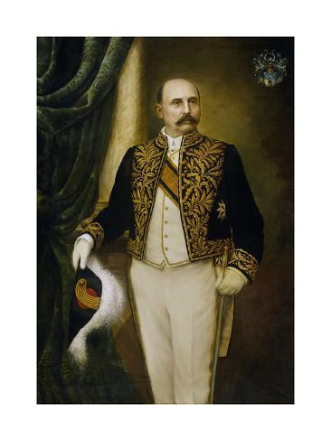 Johannes Benedictus Van Heutsz. Gouverneur-General Art Print