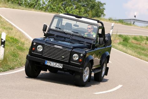 land rover defender cabrio two td5 photographic print by hans dieter