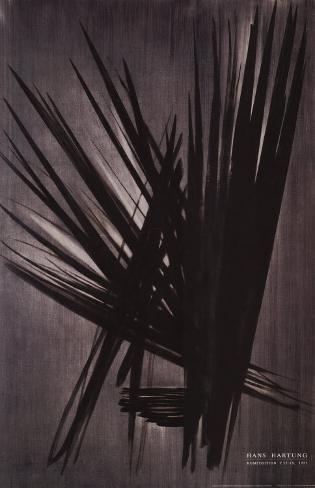 Composition 55-18, 1955 Art Print