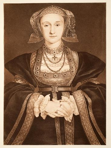 Anne of Cleves, C.1539, Pub. 1902 Stampa giclée