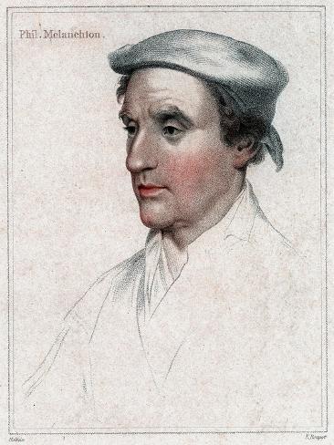 Philip Melanchthon (1497-156) the German Protestant Reformer Impressão giclée