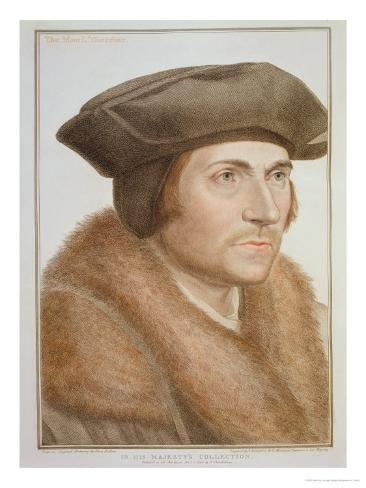 Thomas More, Lord Chancellor Giclee Print