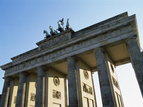 Brandeburg Gate, Berlin, Germany Impressão fotográfica
