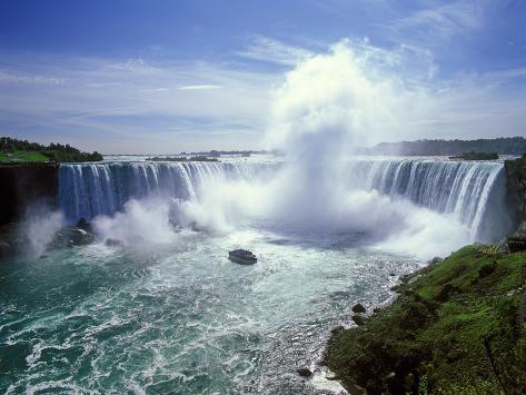 Horseshoe Falls, Niagara Falls, Ontario, Canada Impressão fotográfica premium