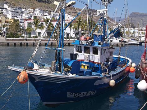 Puerto De Mogan, Gran Canaria, Canary Islands, Spain, Atlantic, Europe Photographic Print
