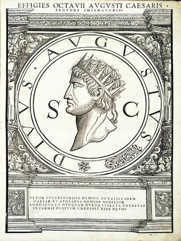 Octavianus Caesar Stampa giclée