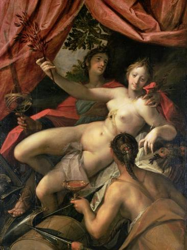Allegory of Peace, Art and Abundance, 1602 Giclee Print