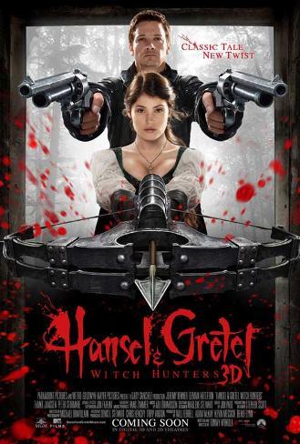 Hansel & Gretel: Witch Hunters (Jeremy Renner, Gemma Arterton) Movie Poster Poster