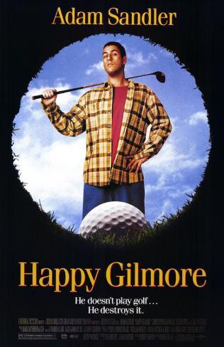Happy Gilmore Masterprint