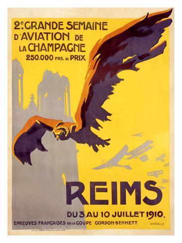Semaine d'Aviation Giclee Print