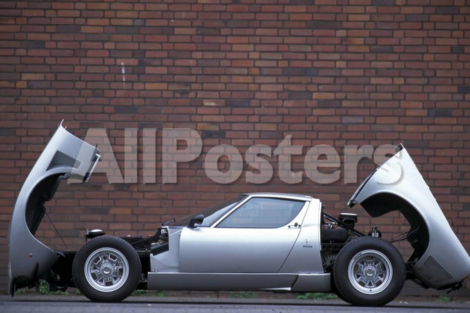 Lamborghini Miura Sv Jota Photographic Print By Hardy Mutschler At