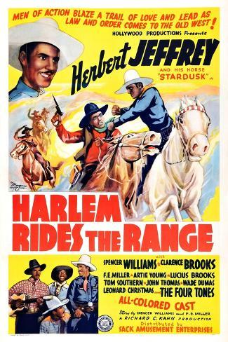 Harlem Rides the Range Art Print