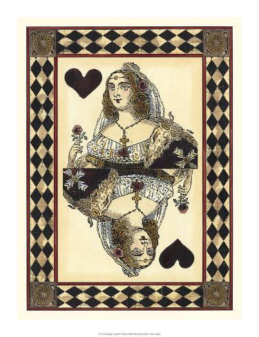 Harlequin Cards IV Giclee Print