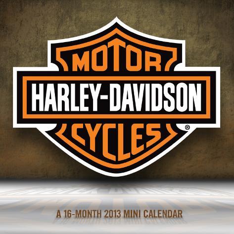 Harley-Davidson - 2013 Mini Calendar Calendars