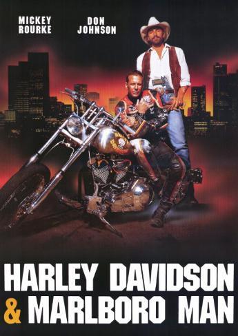 Harley Davidson and the Marlboro Man Stampa master