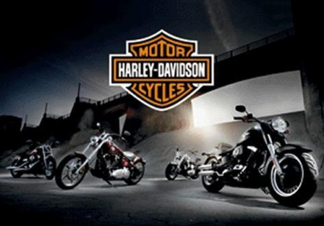 Harley Davidson 3 Dimensional Poster