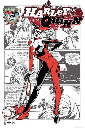 harley quinn comic panels posters at allposters com
