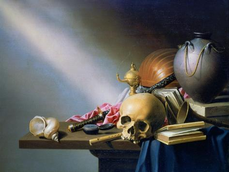 An Allegory of the Vanities of Human Life, C1640 Giclee ...