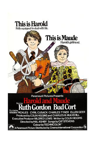 Harold and Maude, 1971 Gicléedruk