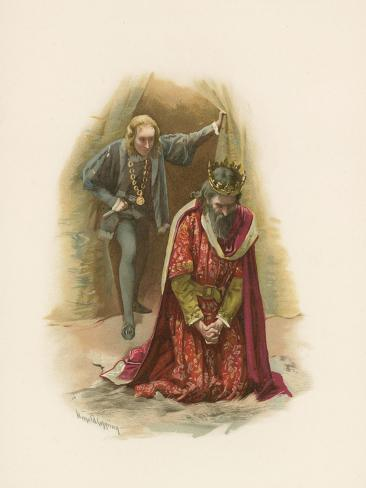 Hamlet and the King Giclee Print