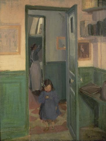 In Sickert's House, 1907 Giclee Print