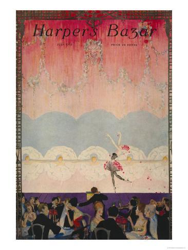 Harper's Bazaar, July 1916 Art Print