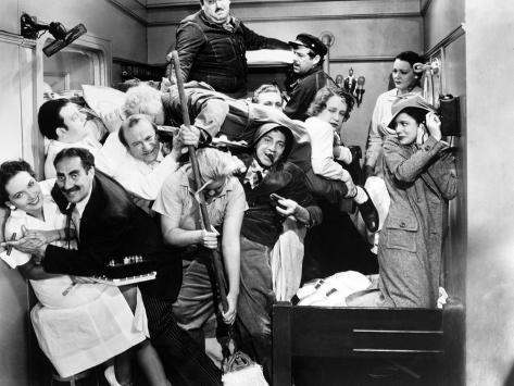 Harpo Marx, the Marx Brothers, Chico Marx, Groucho Marx.