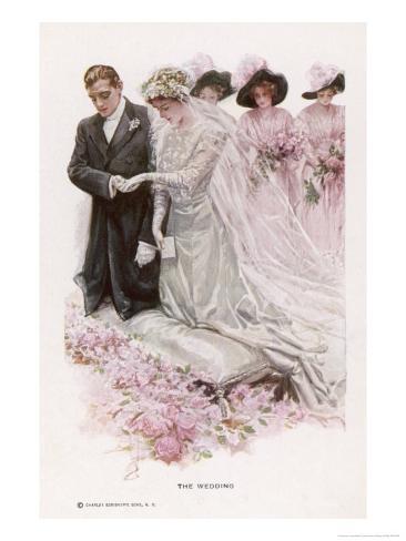 The Wedding Ceremony Impressão giclée