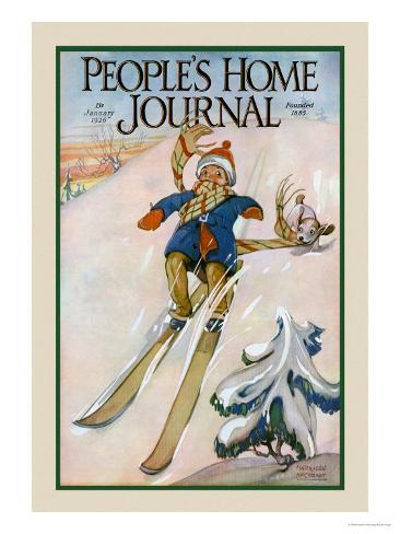 People's Home Journal: January 1926 Art Print