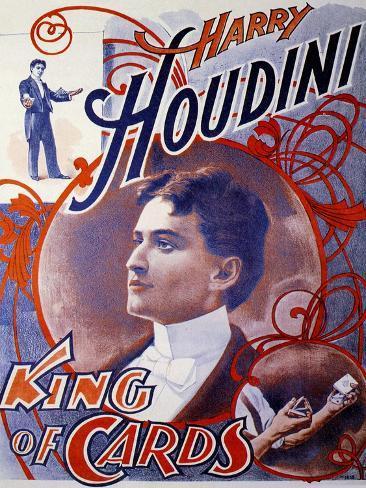 Harry Houdini, UK Giclee Print