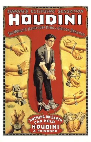 Harry Houdini Masterprint
