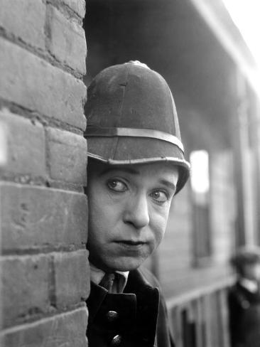 Harry Langdon in Mid 1920s Mack Sennett Film Photo