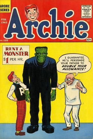 Archie Comics Retro: Archie Comic Book Cover No.125 (Aged) Poster