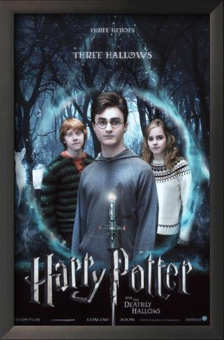 Harry Potter and The Deathly Hallows Part 1 Framed Art Print