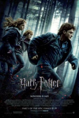 Harry Potter and the Deathly Hallows Part I (Danielle Radcliffe, Emma Watson) Movie Poster Double-sided poster