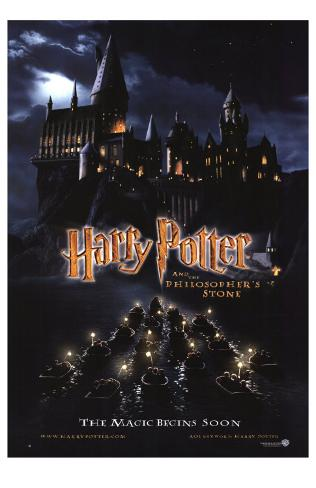 Harry Potter and the Philosopher's Stone Masterprint
