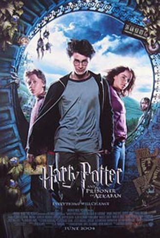 Harry Potter And The Prisoner Of Azkaban Double-sided poster