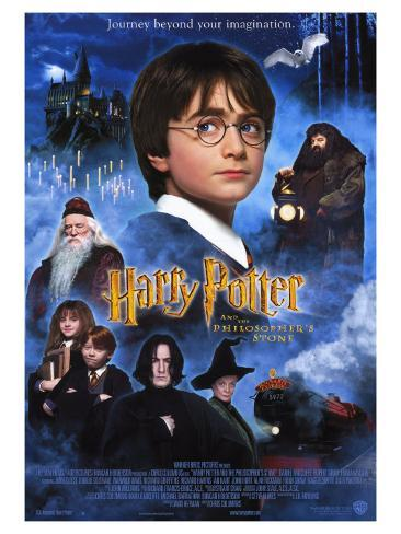 Harry Potter and the Sorcerer's Stone, 2001 Stretched Canvas Print