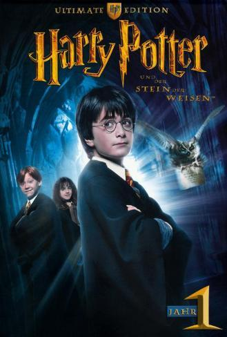 Harry Potter and the Sorcerer's Stone - German Style Poster