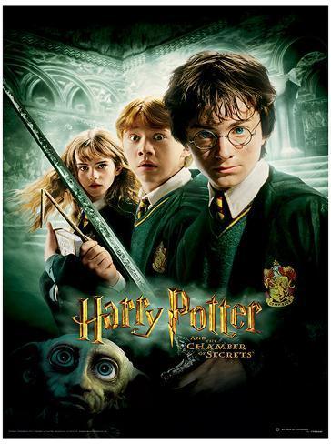 Harry Potter (Chamber Of Secrets) Movie Poster Masterprint