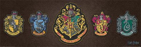 Harry Potter- Crests Poster