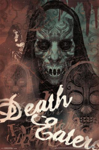 Harry Potter - Death Eater Masks ポスター